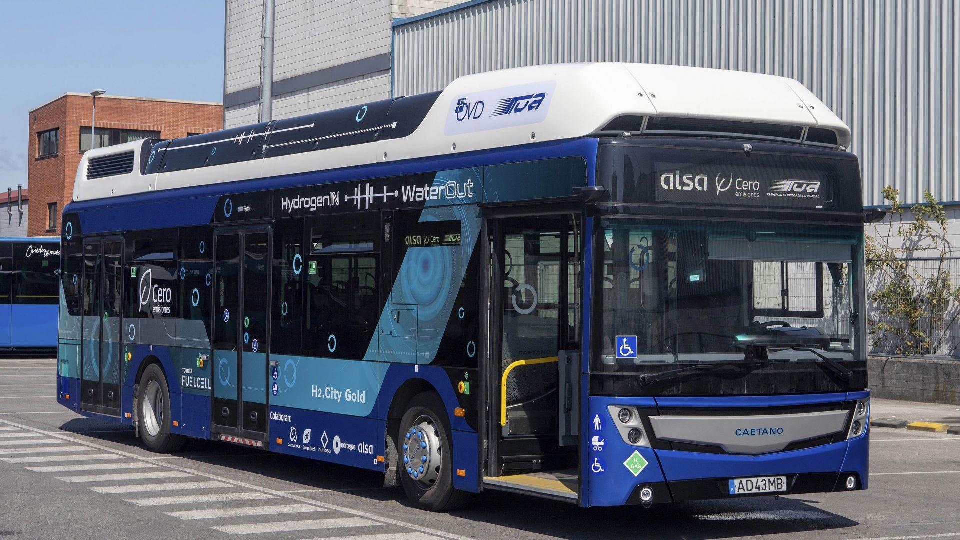 oviedo fuel cell bus