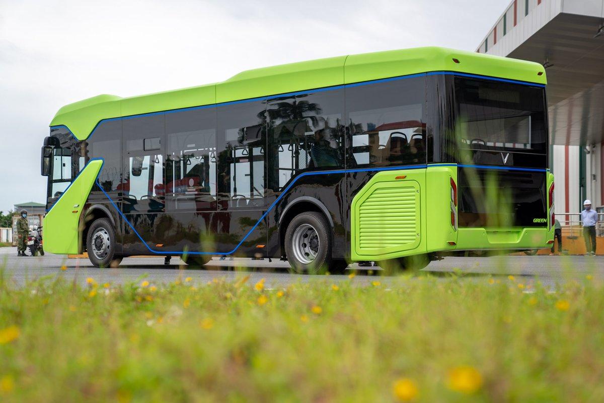 vinbus first electric bus vietnam