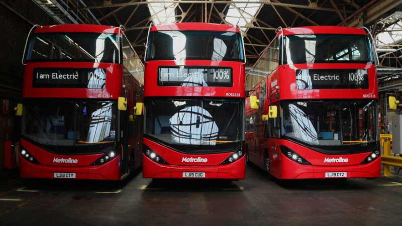 zebra scheme electric buses uk