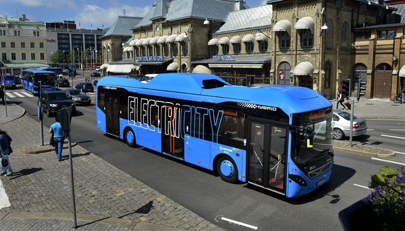 keolis electric bus gothenburg