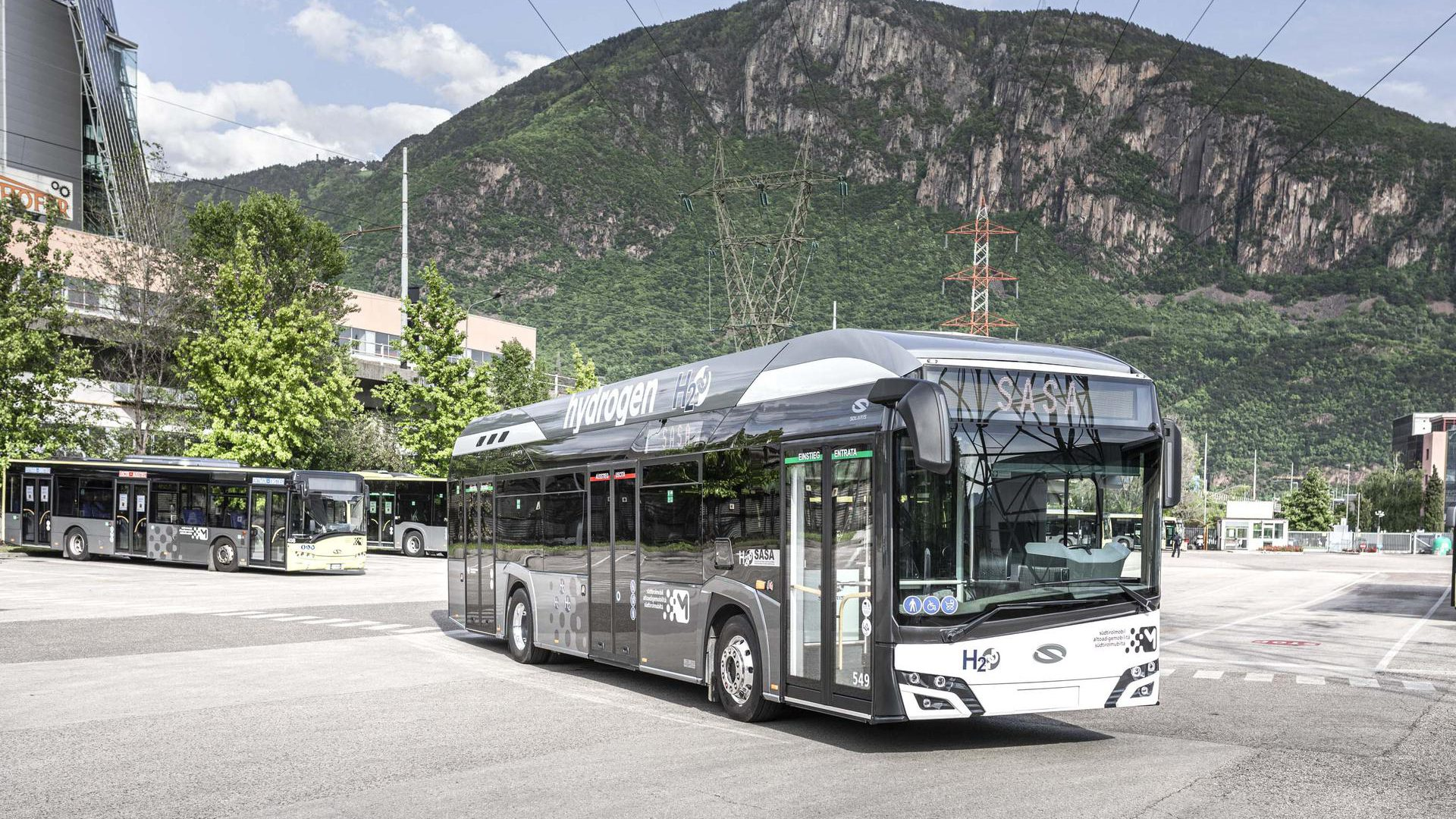 sasa bolzano hydrogen bus