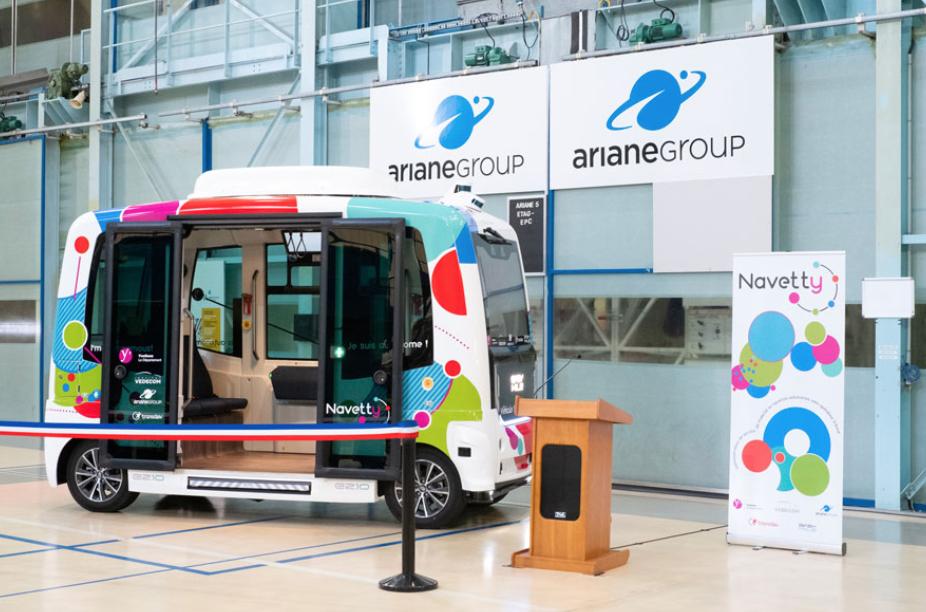 NAVETTY R&D project launched: autonomous shuttle in Paris
