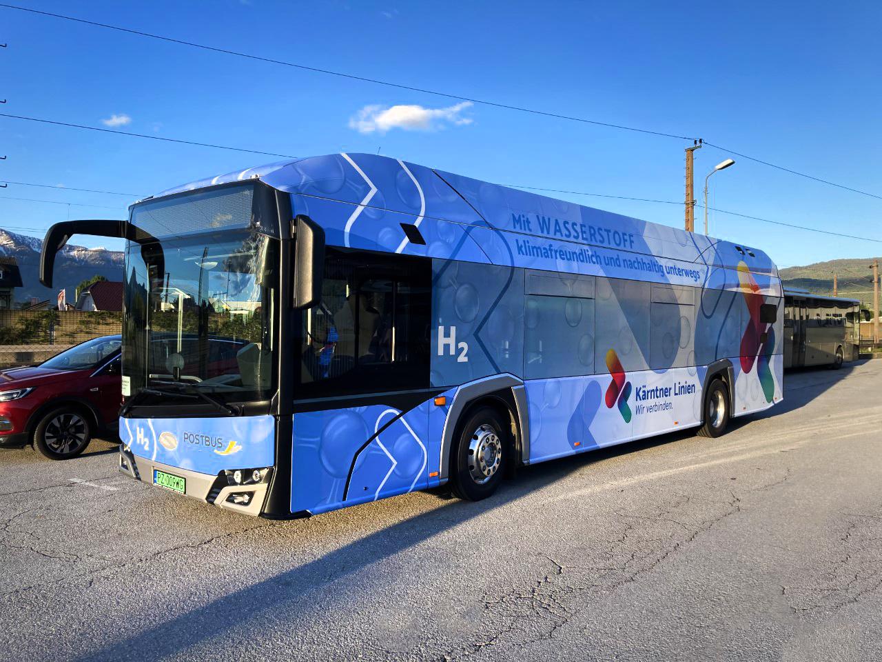 solaris hydrogen bus villach