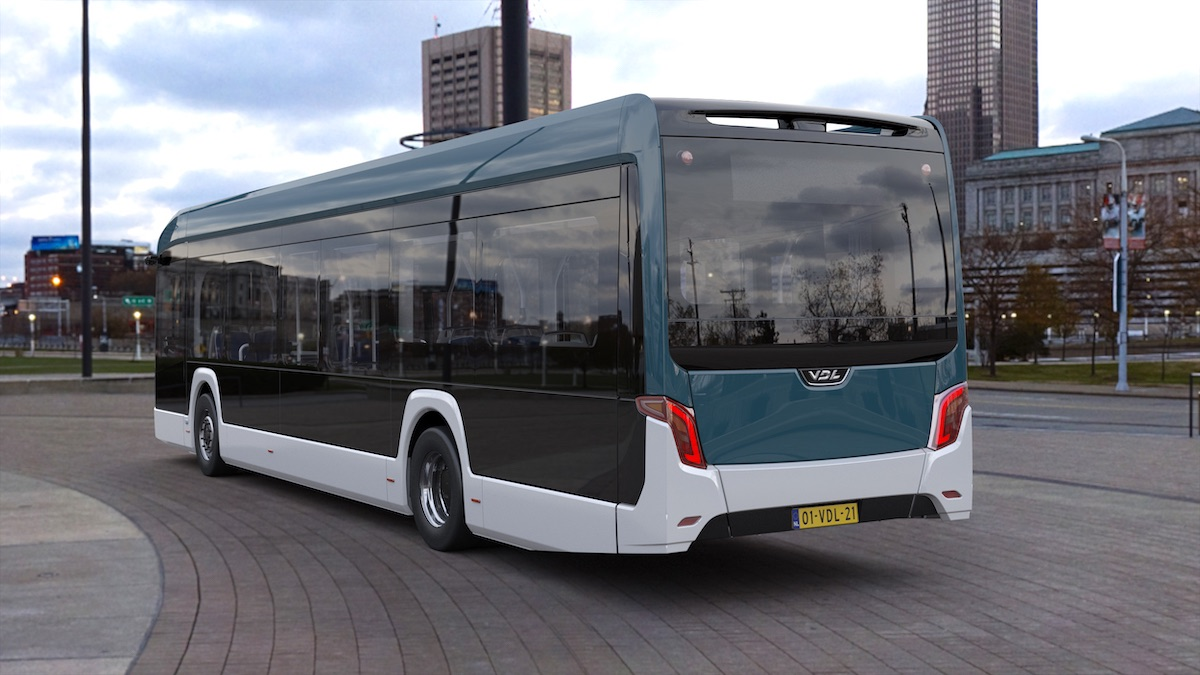 vdl new electric bus