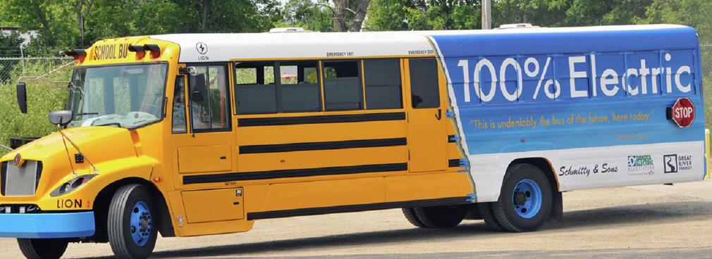 electric bus market north america