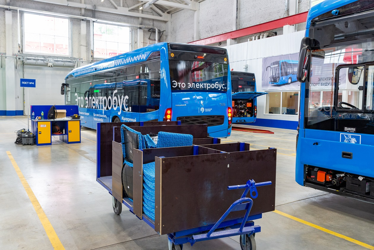 kamaz electric bus made moscow