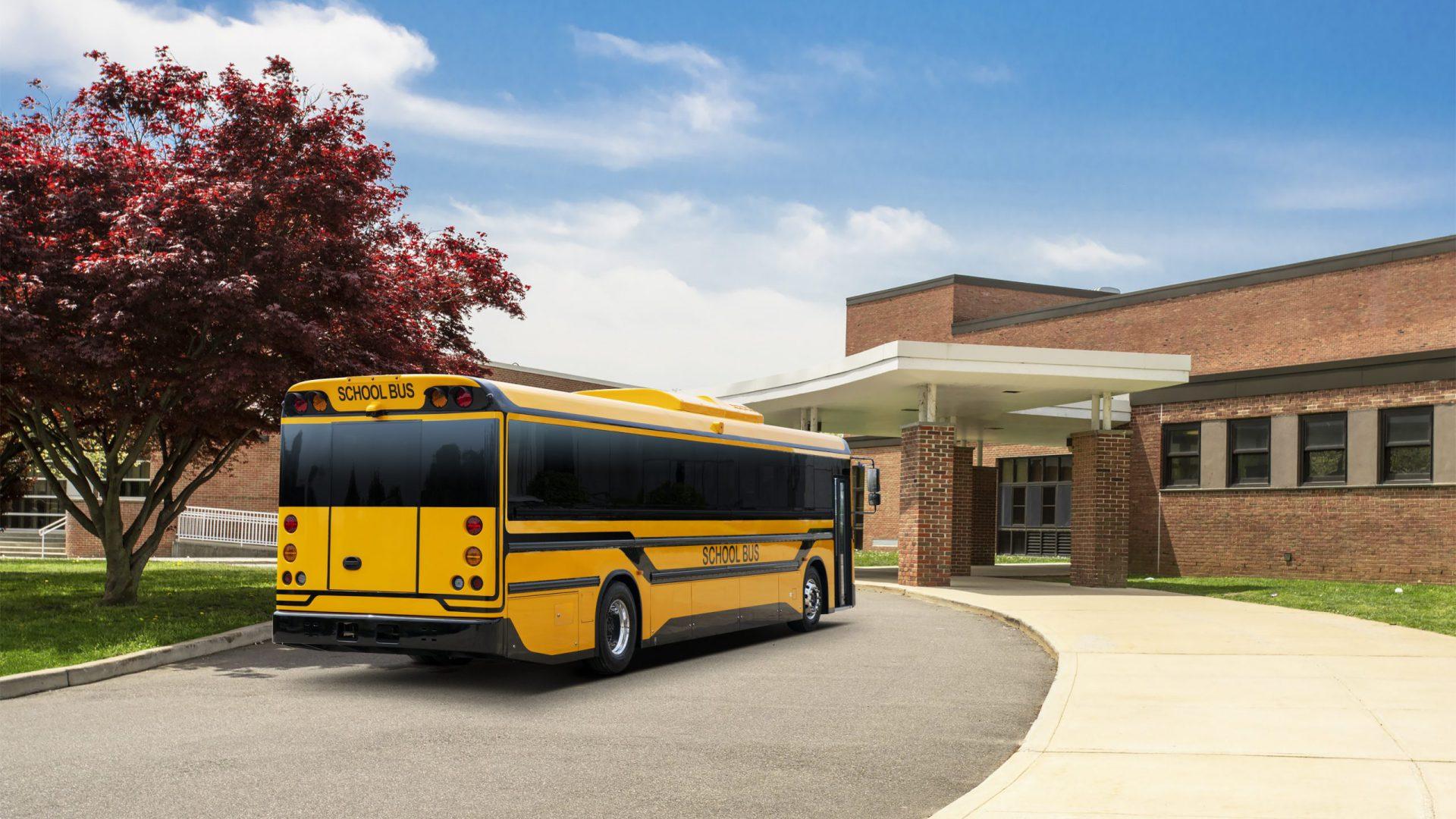 byd electric school bus