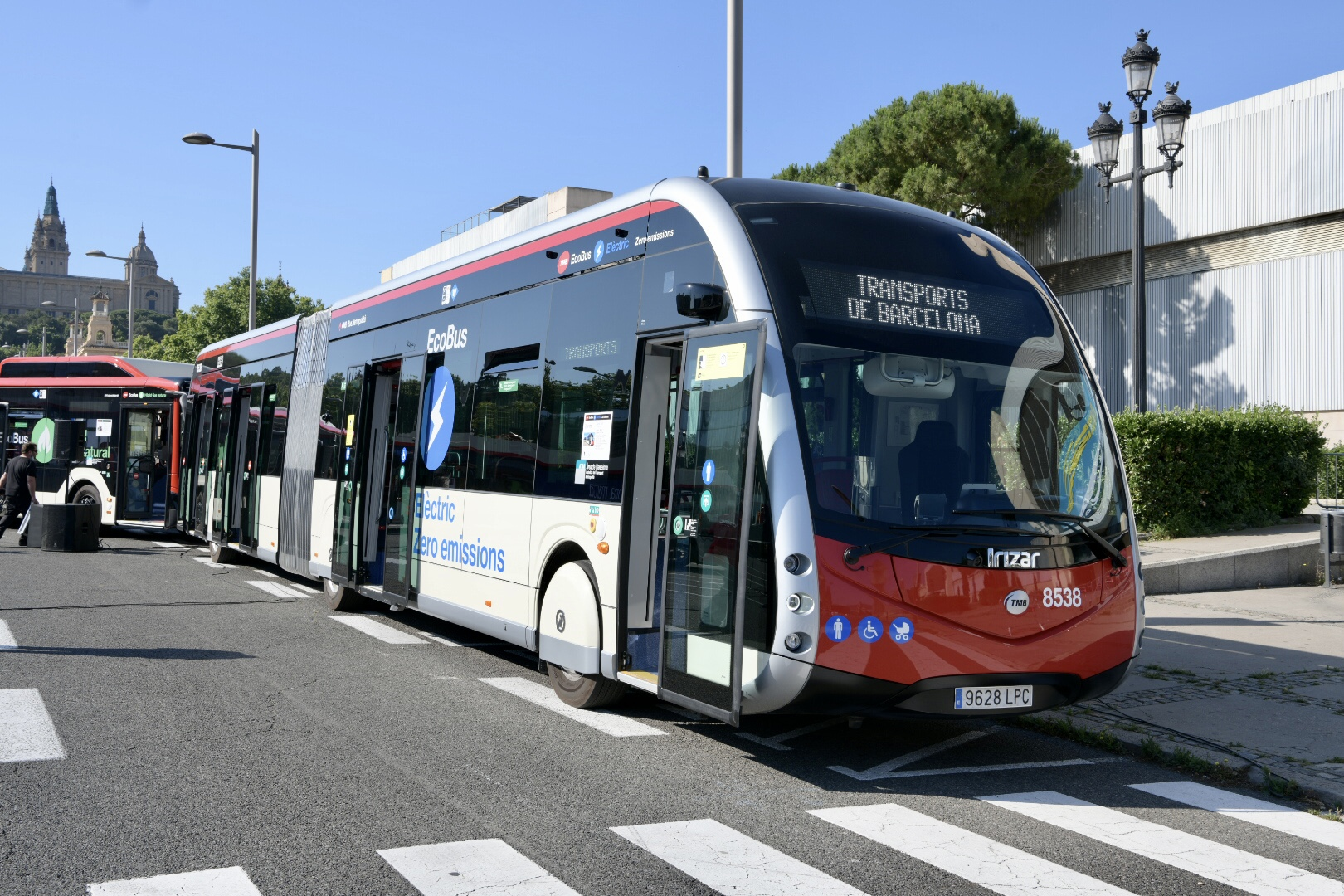 bus electricos barcelona