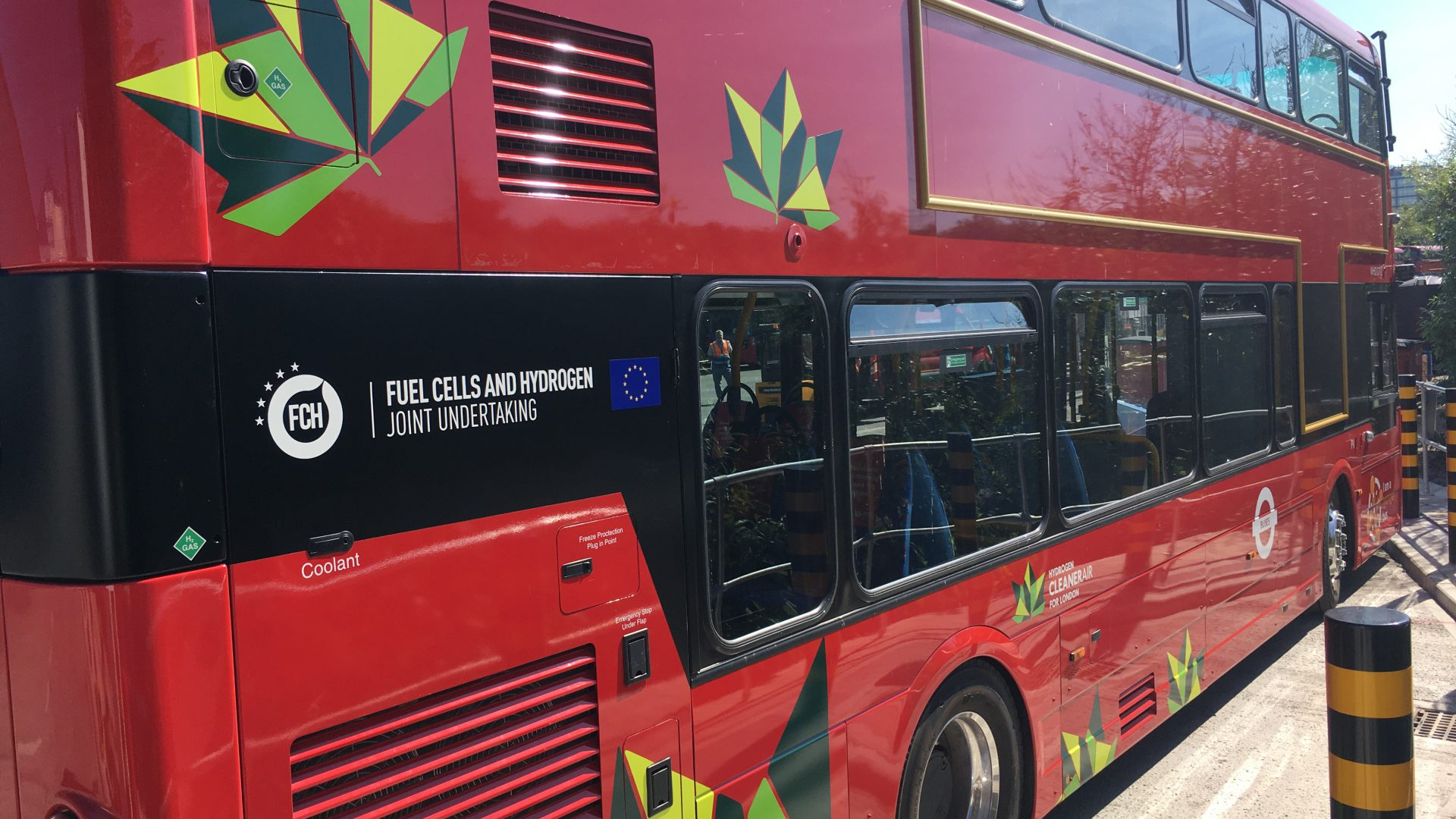 london fuel cell buses double decker