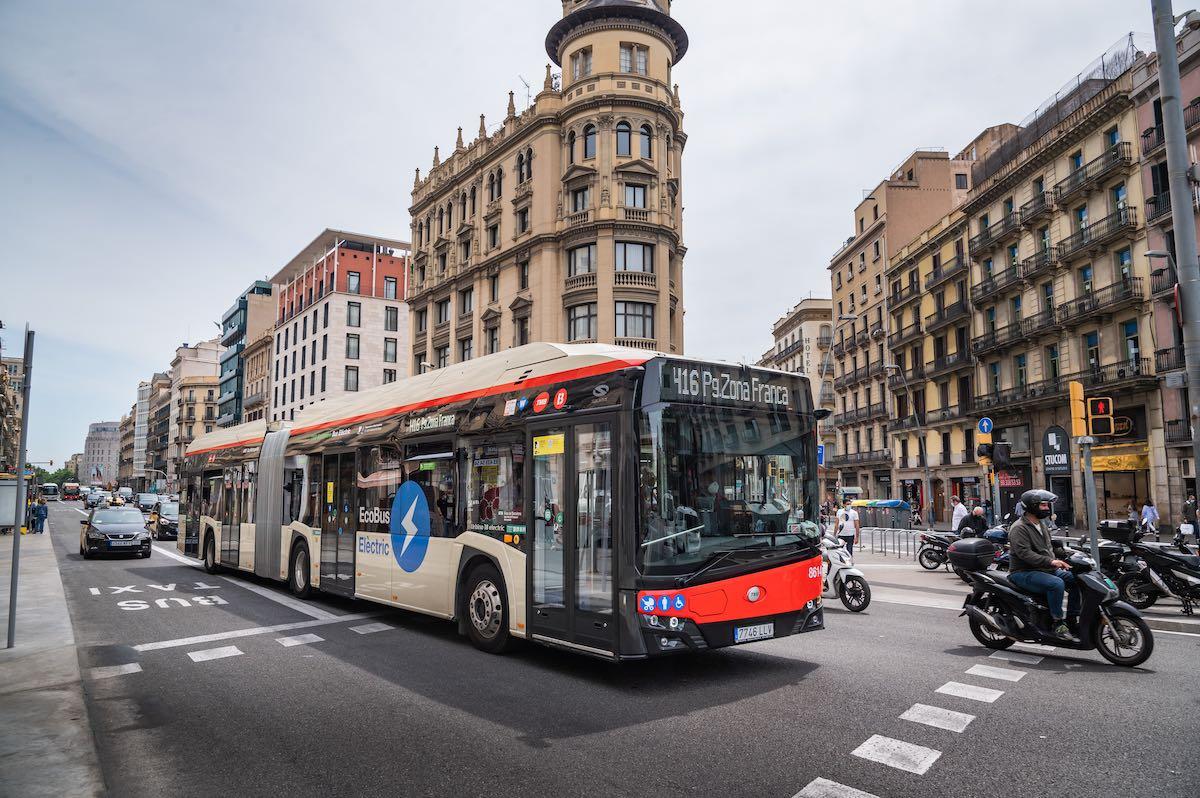barcelona electric buses