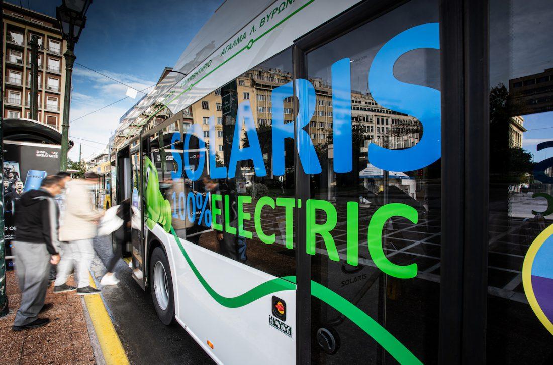 solaris electric bus genoa